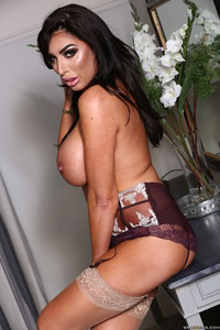 Big Boobed Milf Ava Koxxx Posing Nude