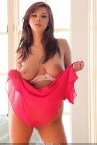 Pink Busty Sabrina Maree Masturbates