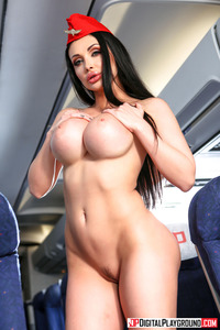 Big Boobs Stewardess Aletta Ocean