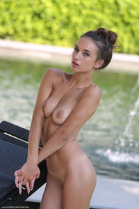Gloria Sol Shows Her Fresh Pussy Outdoors