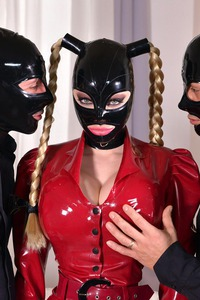 Latex Lucy Latex Mask