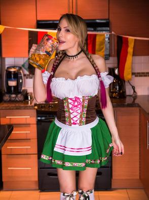 Katie Banks Offers You Premium Beer