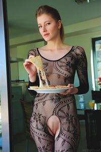 Petite Brunette Mila I Stripping Lingerie