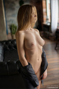 Busty Young Addie Shows Her Body
