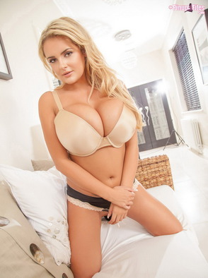 Katie Thornton With Huge Pillowy Breasts