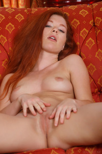 Redhead Hot Naked Girl Mia Sollis