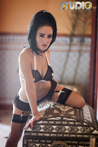 Alexandra Louise In And Out Of Lingerie