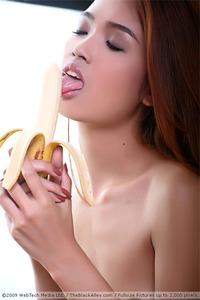 Little Asian Teen Farah Sucking Banana