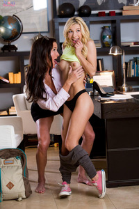 Hot Lesbians Kenzie Reeves And Sofie Marie