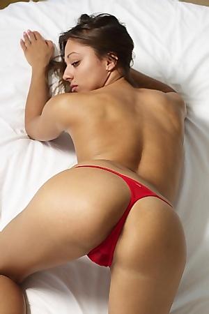 Dominika In Sexy Red Panties