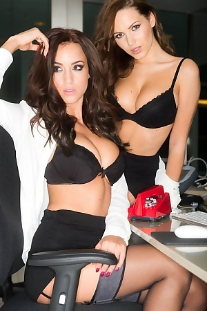 Nuts Office Babes