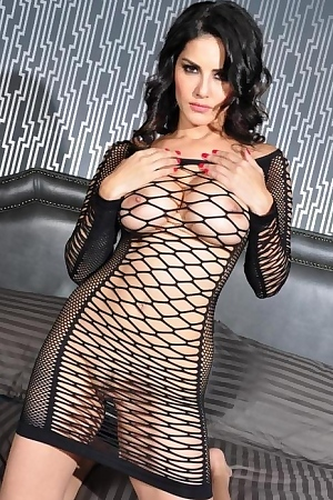 Sunny Leone Wearing See Through Lingerie Porn Pic Gallery