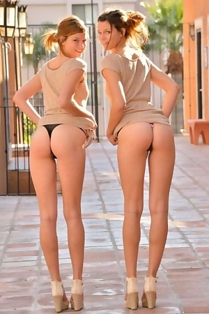 Twins In Public