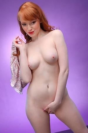 Hot Redhead Kloe Kane Strips