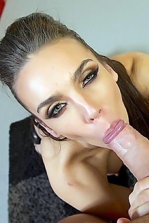 Tiffany Tyler Sucking A Big Dick