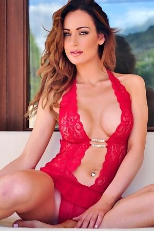 Daisy Muller Red Lingerie