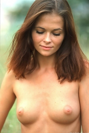 Barbara Is Nude In Nature