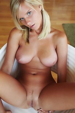 Miela Posing Nude At Home