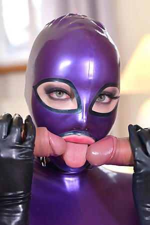 Latex Lucy Gets Some Hard Treatment