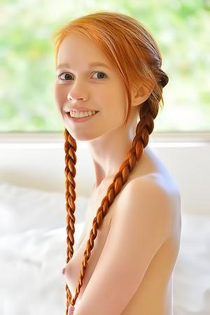Redhead Teen Dolly Foot Fetish