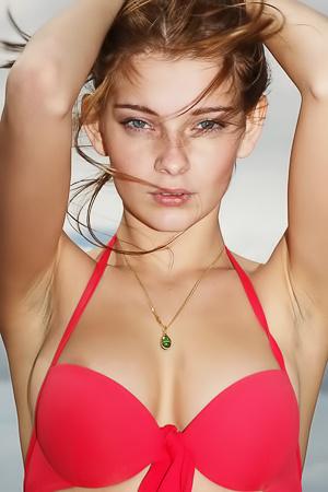 Belle Red Bikini