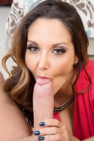 Ava Addams Giving Hot Blowjob