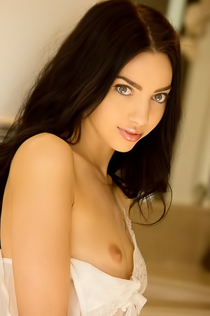 Naked Lovely Latina Araya Acosta