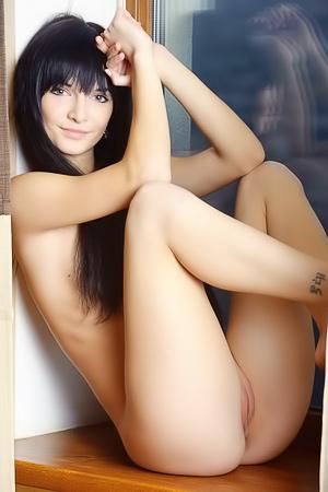 Svajone Bares Her Flexible Body