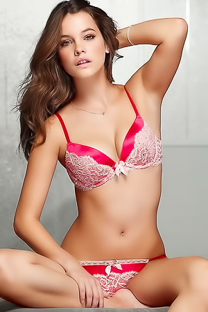 Barbara Palvin In Lingerie