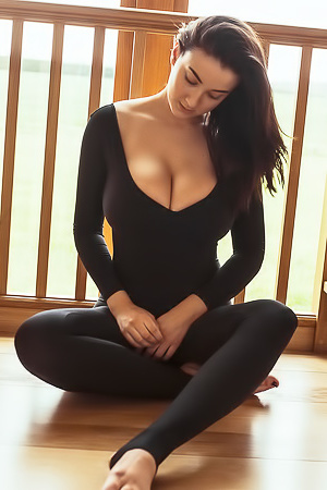 Joey Fisher via SkinTight Glamour