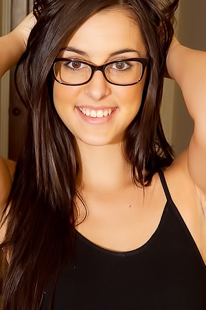 Alannah Monroe In Glasses