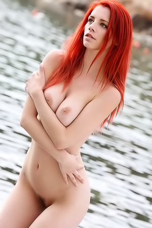 Ariel By The River