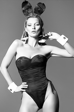 Kate Moss And Other Sexy Playboy Bunnies