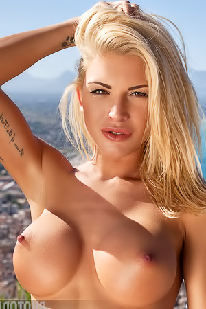 Big Boobed Blonde Brigitta