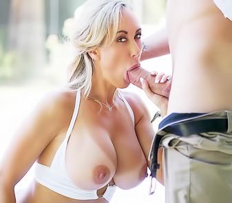 Sexy Milf Brandi Love Fucks Hard