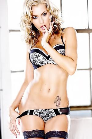 Tattooed Blonde Sexbomb Natasha Marley