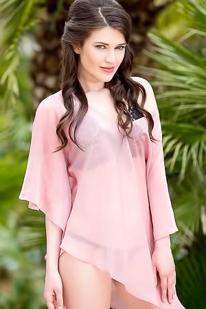 Serena Wood In Pink Serenity