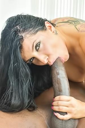 Romi Rain Enjoys A Big Black Cock