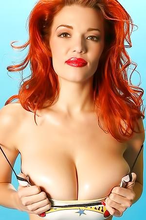Fiery Redhead Danielle Riley