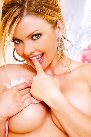 Sweet Angela Posing In Pink Panties