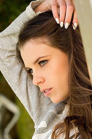 Beauty Brunette Babe Valeria