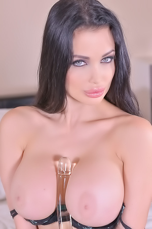 Aletta Ocean's New Glass Dildo