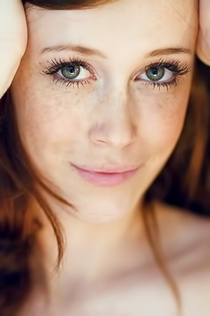 Fabulous Freckled Models