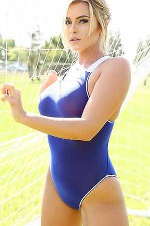 Katie shoot goals