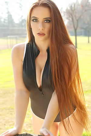 Ginger via Swimsuit-Heaven