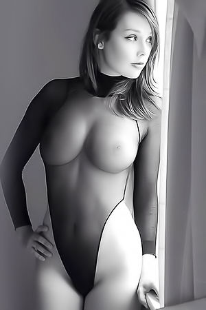 Nude Black And White Art