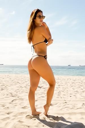 Eva Lovia Miami Beach Booty