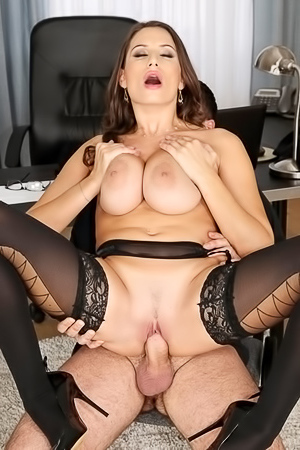 Office Worker Sensual Jane