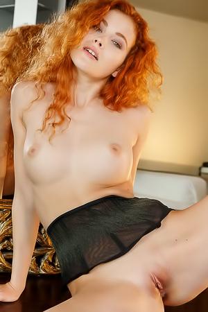 Sexy Redhead Russian Teen Adel C
