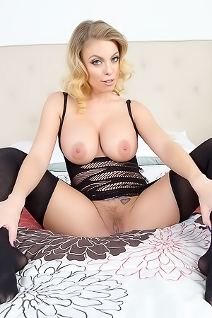 Britney Amber In Black Stockings